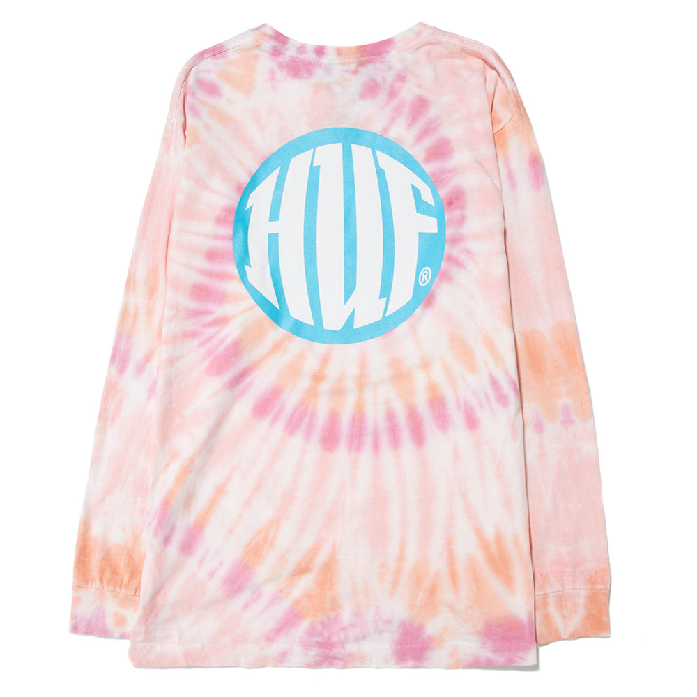 HUF High Definition Long Sleeve T-shirt / Coral Pink– Deadstock.ca