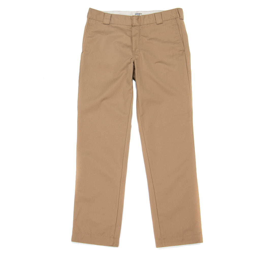 I020074 Carhartt WIP Master Pant / Leather Rinsed