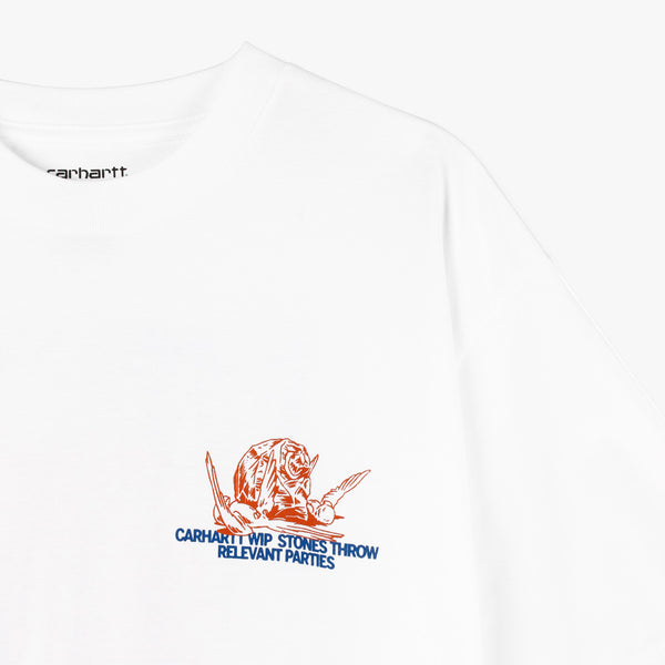 Carhartt WIP x Relevant Parties Stones Throw T-shirt / White