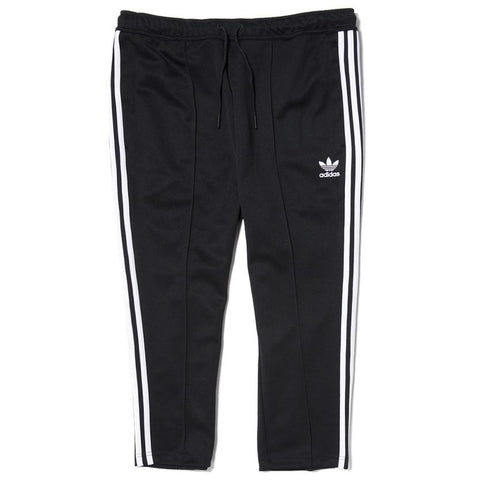 ADIDAS SUPERSTAR RELAX CROP TRACK PANT / BLACK - 1