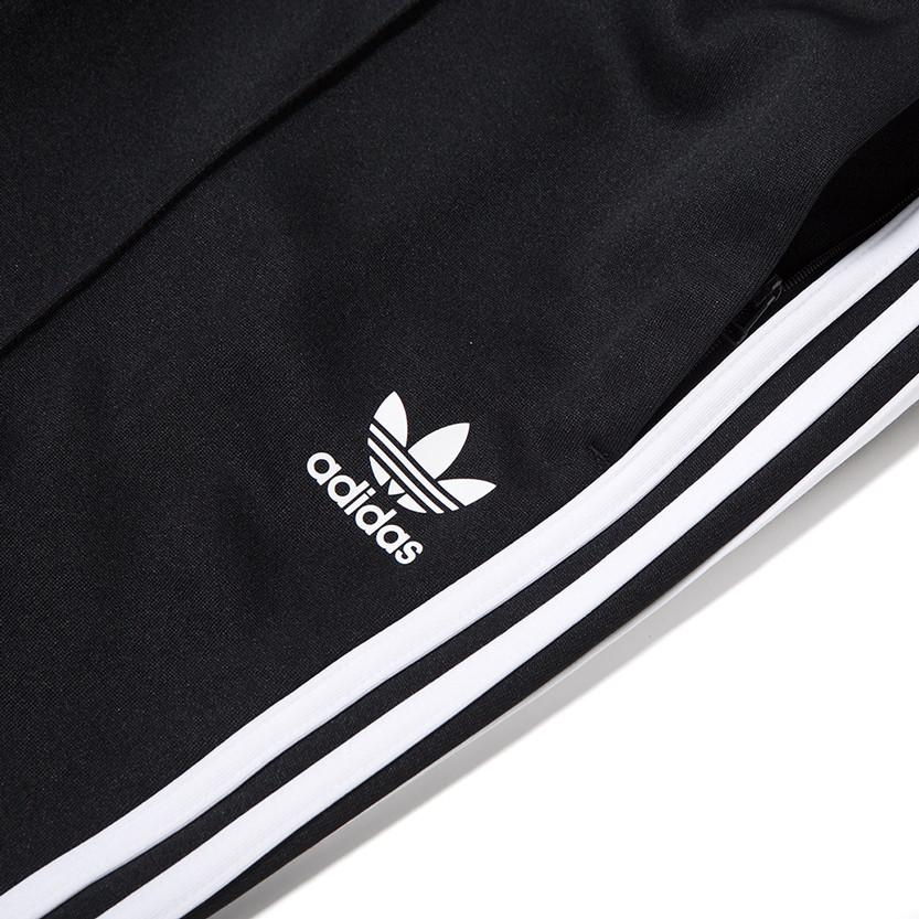ADIDAS SUPERSTAR RELAX CROP TRACK PANT / BLACK . style code BK3632
