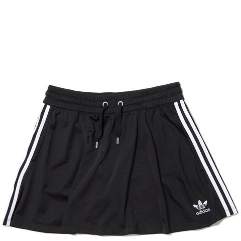 ADIDAS WOMEN'S 3 STRIPES SKIRT / BLACK