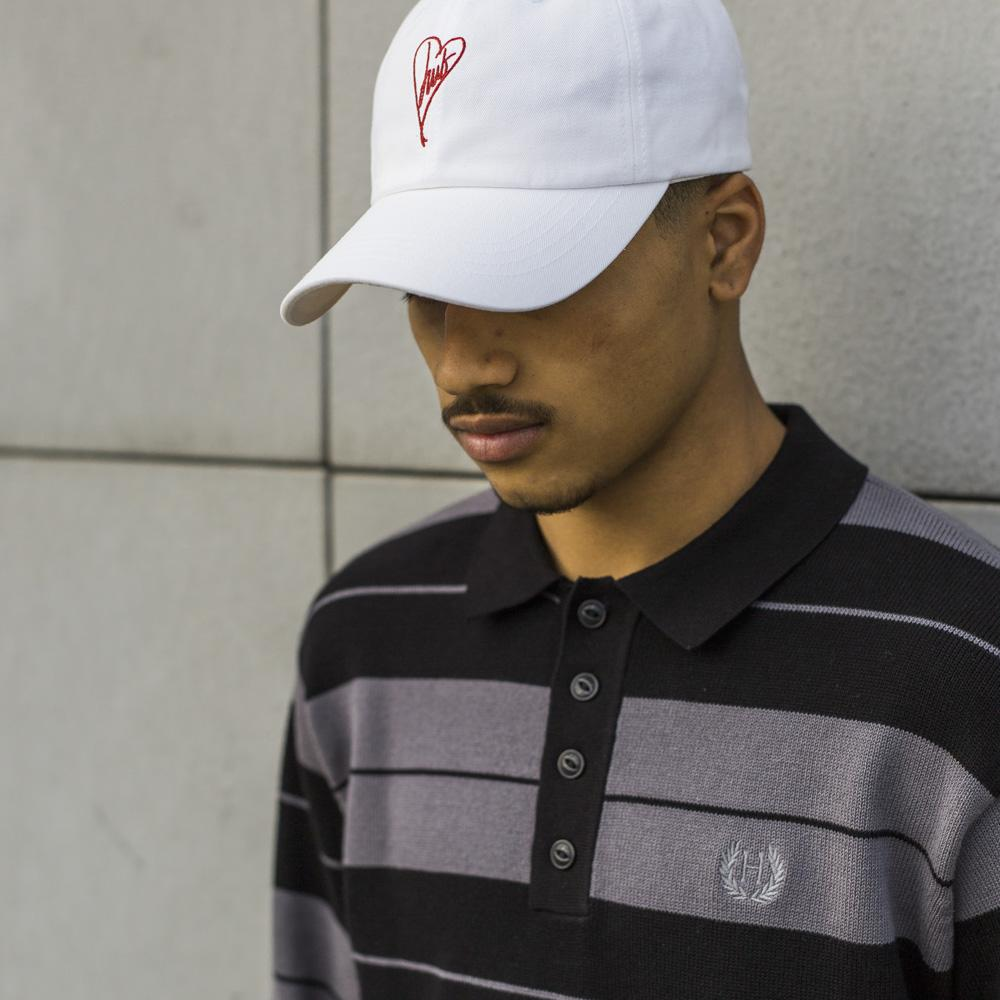 HUF 1979 CURVED VISOR 6 PANEL / WHITE
