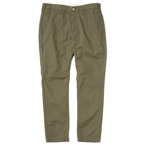 style code VFP4024. DENIM BY VANQUISH & FRAGMENT TAPERED CHINO PANTS / OLIVE