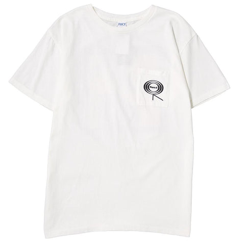 FUCT SSDD SWEET MAGIC T-SHIRT / WHITE