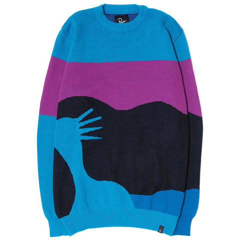 BY PARRA SUCCESS JACQUARD KNITTED PULLOVER / MULTI