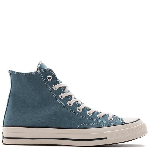 style code 155745C. CONVERSE CHUCK TAYLOR ALL STAR 70 VINTAGE CANVAS HI / BLUE COAST