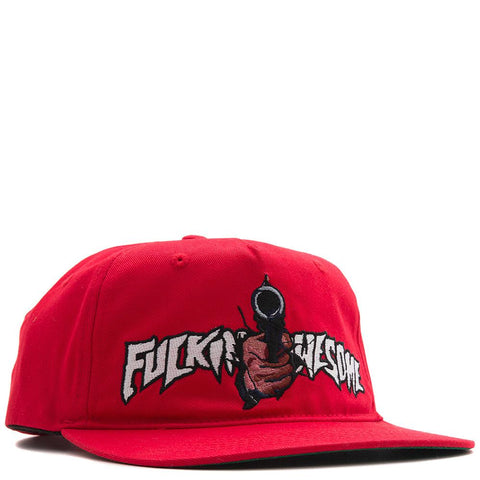 style code FASP16112RED. FUCKING AWESOME BREAKTHROUGH HAT / RED