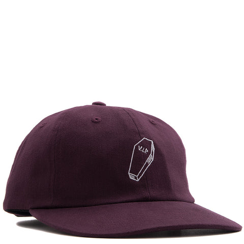 QUIET LIFE VIP POLO HAT / MAROON
