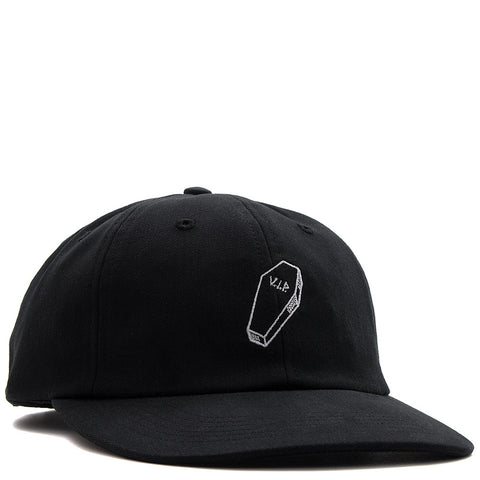 QUIET LIFE VIP POLO HAT / BLACK