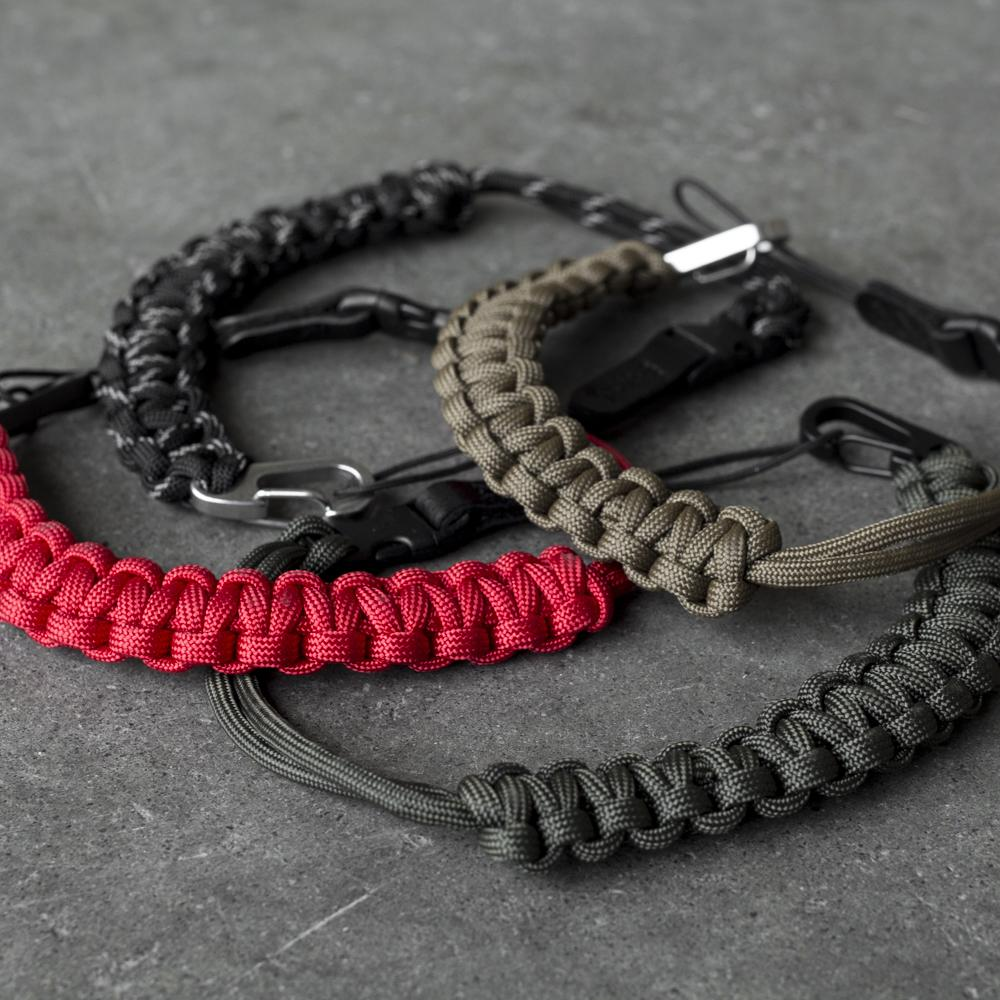 DSPTCH CAMERA WRIST STRAP STAINLESS STEEL / COYOTE