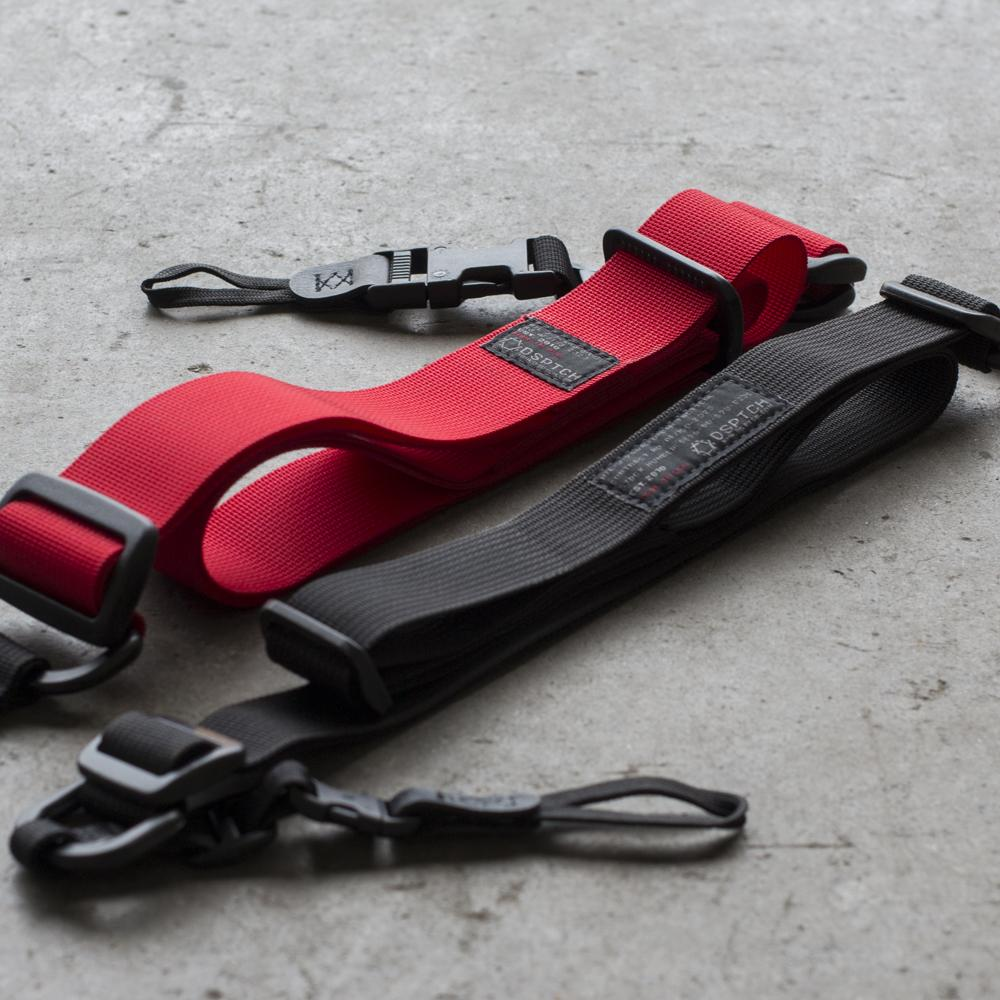 DSPTCH HEAVY CAMERA SLING / RED