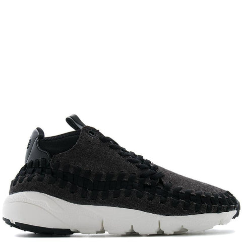 NIKE AIR FOOTSCAPE WOVEN CHUKKA SE / BLACK - 1
