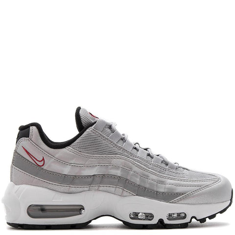 NIKE WOMEN'S AIR MAX 95 QS / METALLIC SILVER