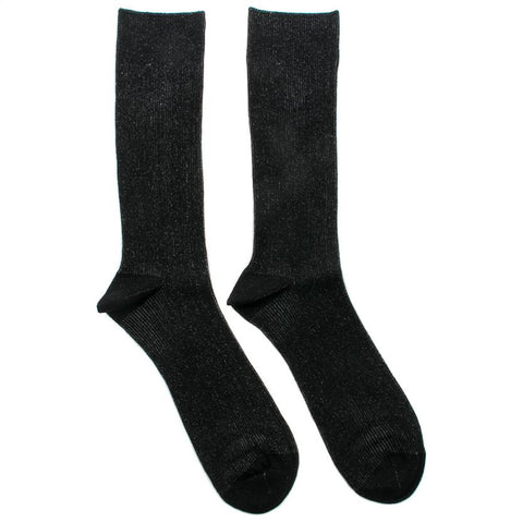 N/A SOCK EIGHT MID CALF LENGTH / BLACK