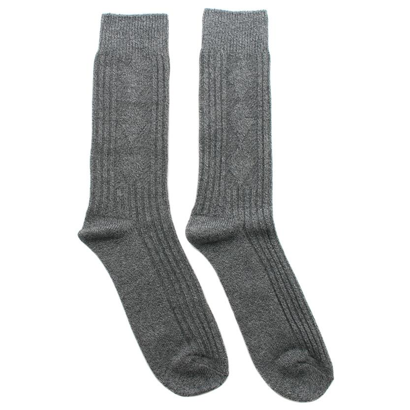 N/A SOCK ELEVEN MID CALF LENGTH / MELANGE GREY. style code 5515009GRY