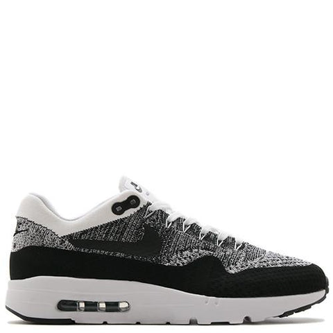 NIKE AIR MAX 1 ULTRA FLYKNIT WHITE / BLACK - 1
