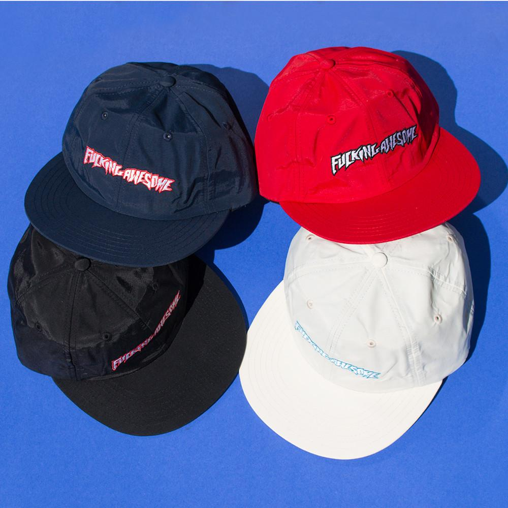 FUCKING AWESOME OUTLINE LOGO HAT / RED