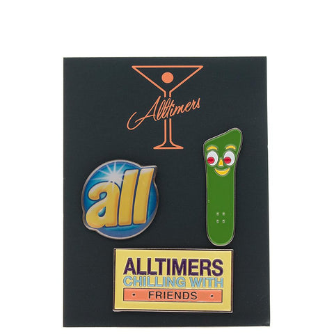 ALLTIMERS PIN SET