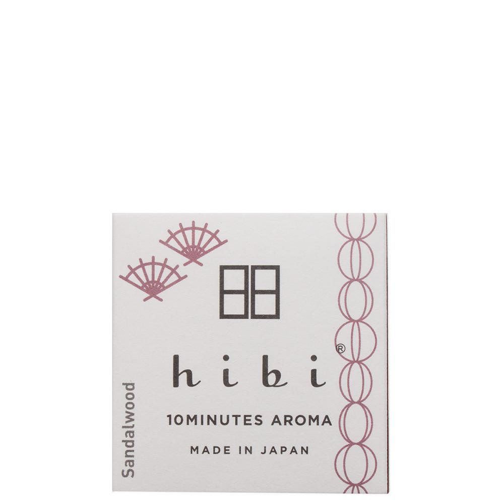 style code J00208m. HIBI JAPANESE FRAGRANCE / SANDALWOOD - 8 STICKS
