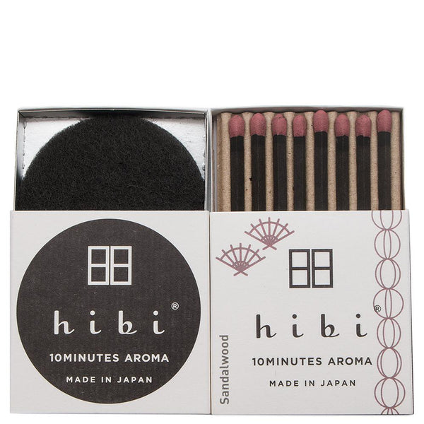 Hibi Japanese Fragrance / Sandalwood - 8 Sticks