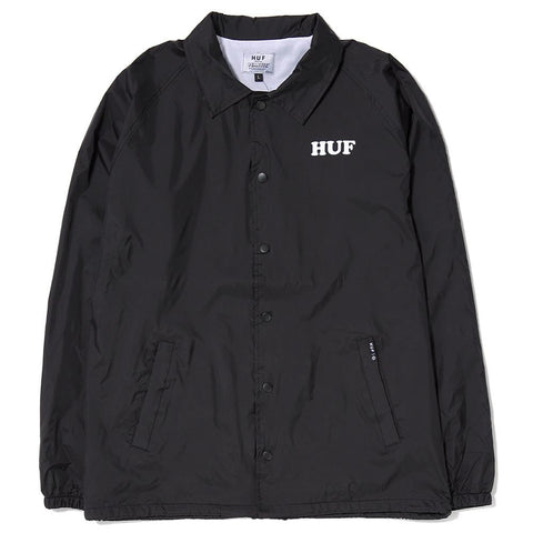 HUF X SPIKE COACH JACKET / BLACK