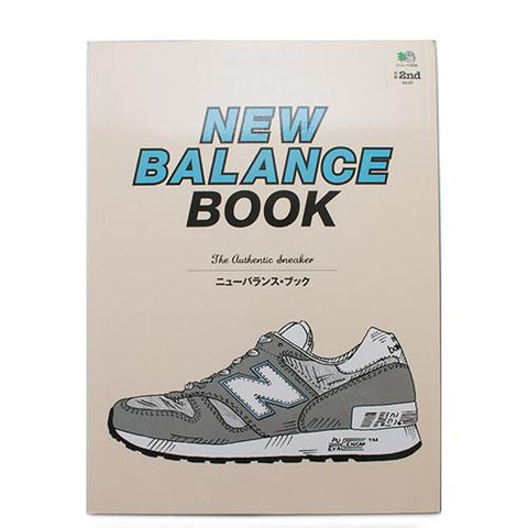 NEW BALANCE BOOK / THE AUTHENTIC SNEAKER . code LIGHT02
