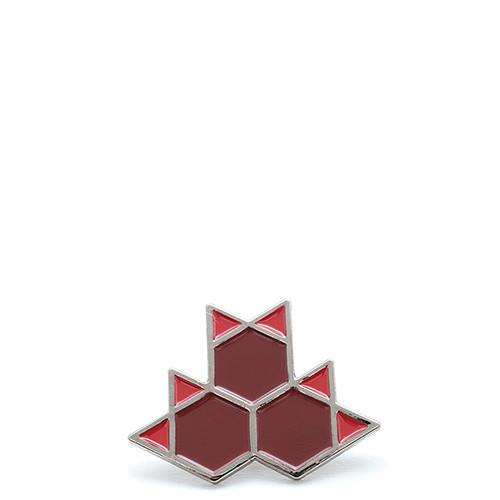 LIVESTOCK MAPLE PIN / RED - 1