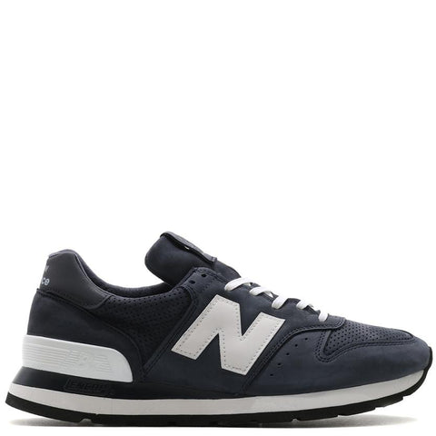 NEW BALANCE M995DNN MADE IN THE USA NAVY / WHITE . style code M995DNN