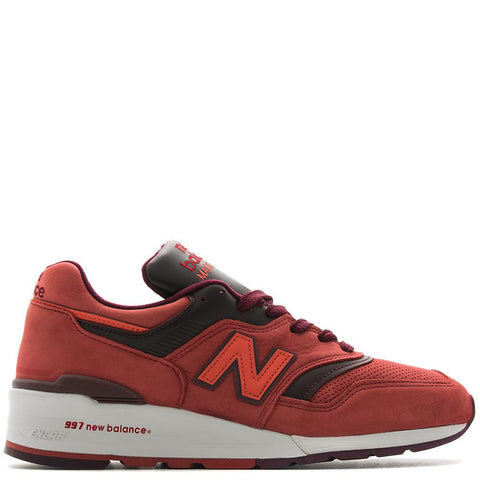NEW BALANCE M997DTAG CLAY / BURGUNDY - 1
