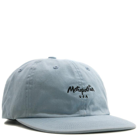 METROPOLITAN HAT / GARMENT DYED CAROLINA BLUE - 1