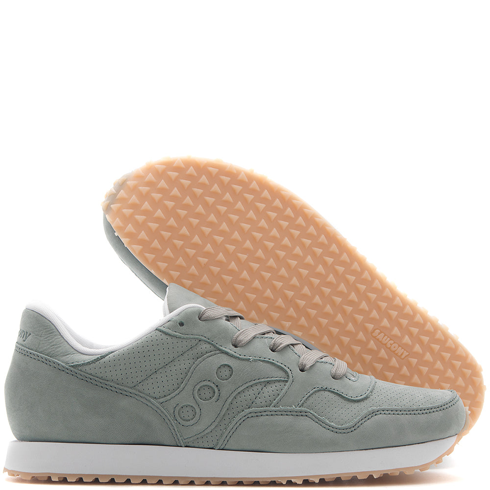 SAUCONY DXN TRAINER CL NUBUCK / GREEN