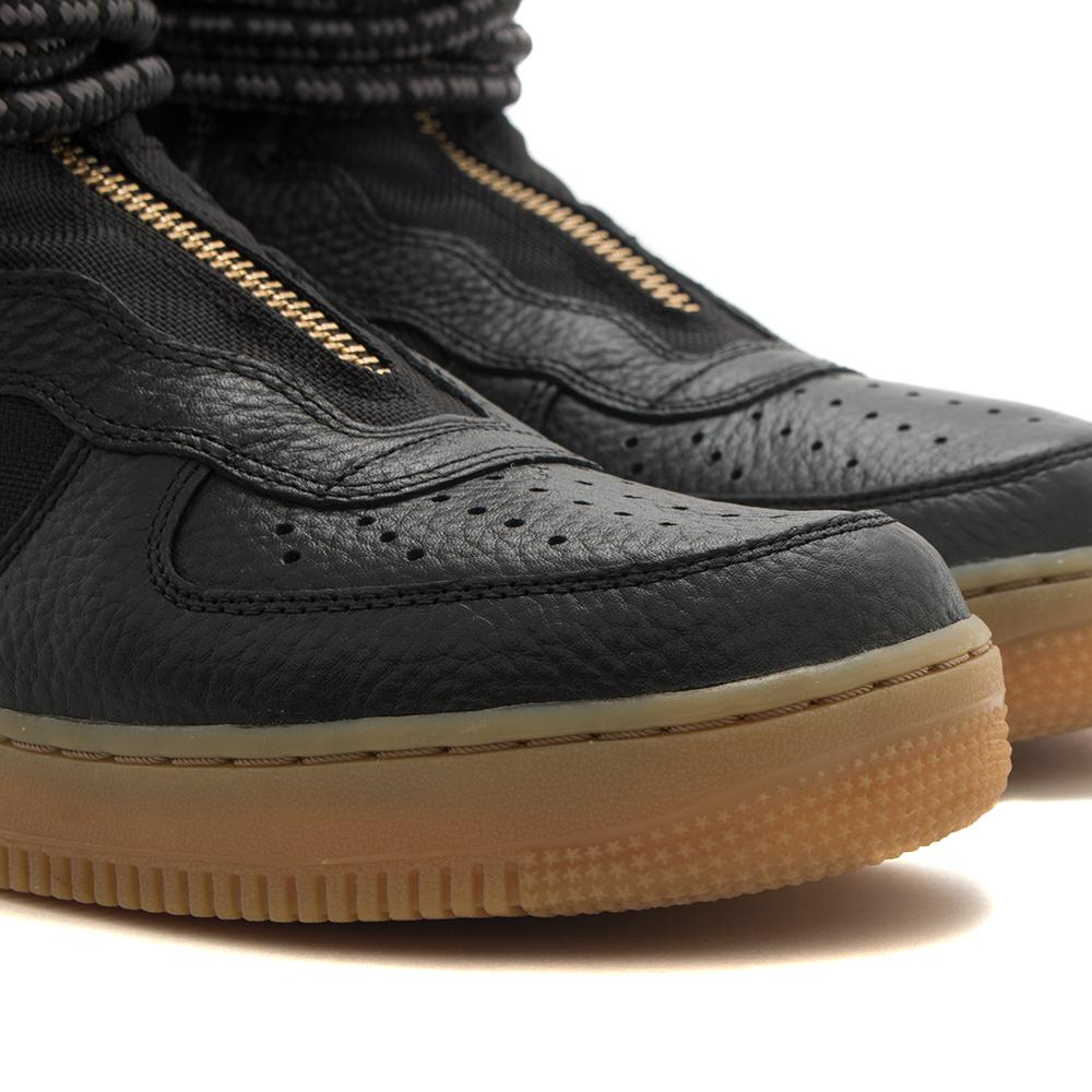 NIKE SF AIR FORCE 1 HI BOOT / BLACK