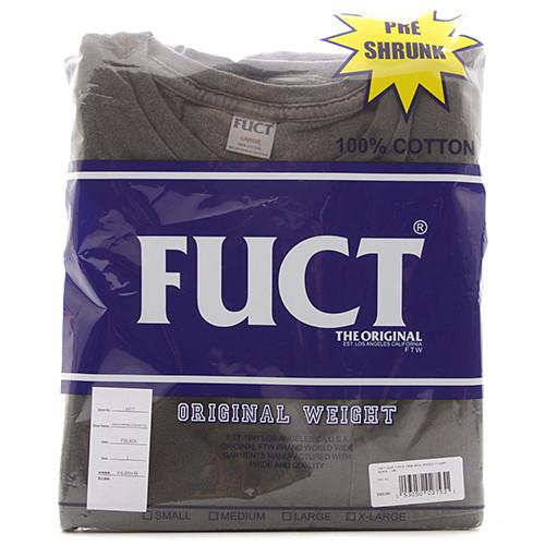 FUCT SSDD 2 PACK CREW NECK POCKET T-SHIRT / BLACK - 1