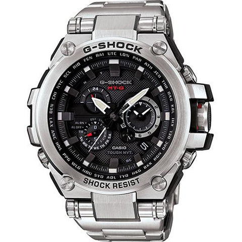 G-SHOCK MTGS1000D-1A METAL TWISTED / SILVER