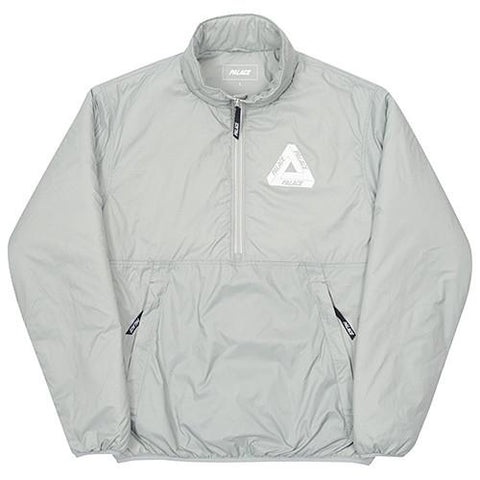 PALACE INTERNATIONALE PACKABLE HALF PLACKET THINSULATE JACKET / PURITAN GREY - 1