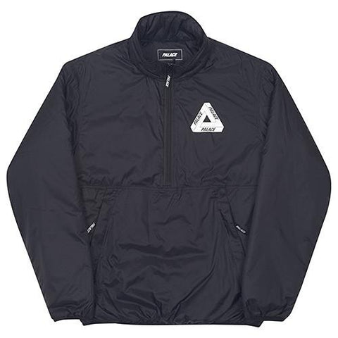 PALACE INTERNATIONALE PACKABLE HALF PLACKET THINSULATE JACKET / BLACK - 1