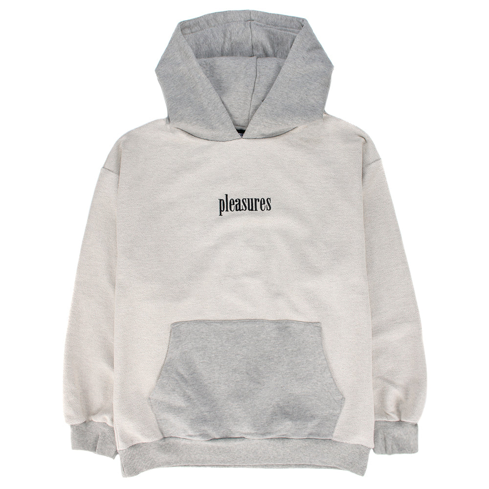 Pleasures Logic Reverse Terry Pullover Hoodie / Grey