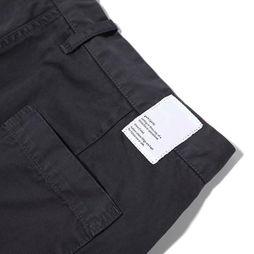 GARBSTORE POCKET LINE TROUSER / CHARCOAL - 6