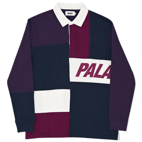 PALACE PATCHWORK RUGBY / NAVY - 1