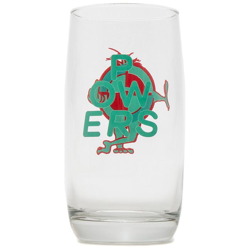 POWERS F.U. TARGET DRINKING GLASSES / GLASS - 3