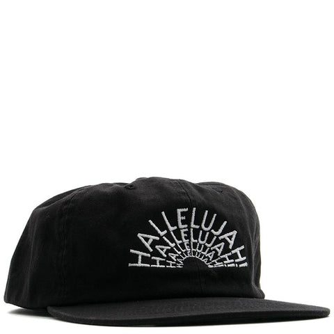 POWERS HALLELUJAH 5 PANEL SNAPBACK / BLACK - 1
