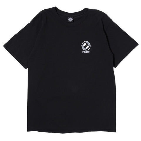 POWERS NC-17 T-SHIRT / BLACK - 1