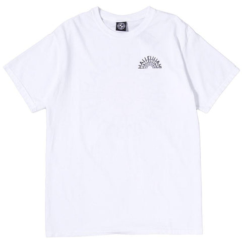 POWERS HALLELUJAH T-SHIRT / WHITE - 1