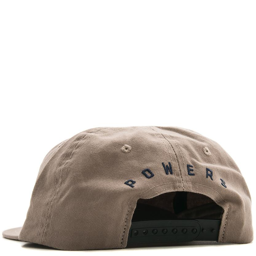 POWERS HANDSHAKE 6 PANEL SNAPBACK / KHAKI