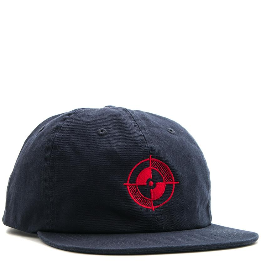 POWERS TARGET 6 PANEL SNAPBACK / NAVY - 1