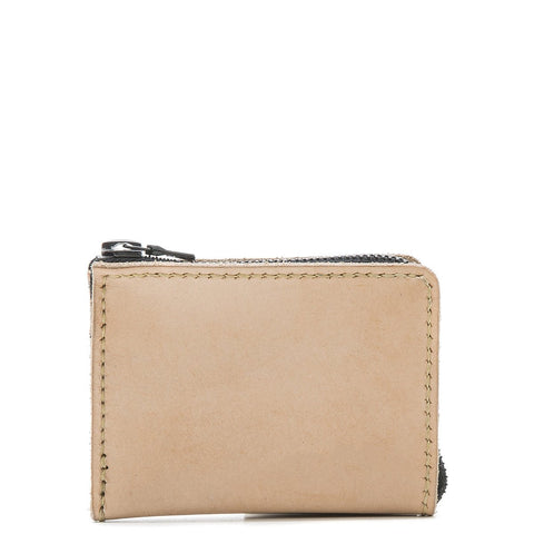 ALTERIOR HALF ZIP WALLET / NATURAL