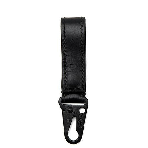 ALTERIOR VEGETABLE TANNED COWHIDE KEYSTRAP / BLACK - 1