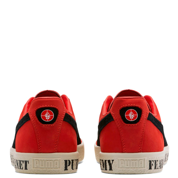 Puma Cream x Public Enemy Clyde / High Risk Red