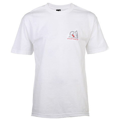 QUIET LIFE REFLECTIVE PREMIUM T-SHIRT / WHITE - 1